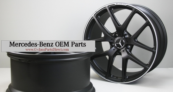 Mercedes benz amg forged wheels matte black r21 g wagon for Mercedes benz g wagon matte black price