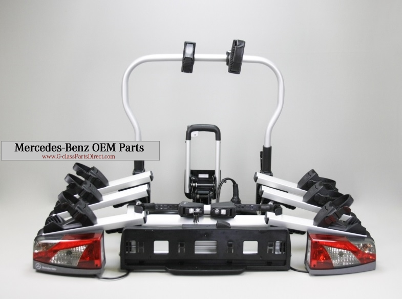 Mercedes benz bicycle carrier g for Mercedes benz parts direct