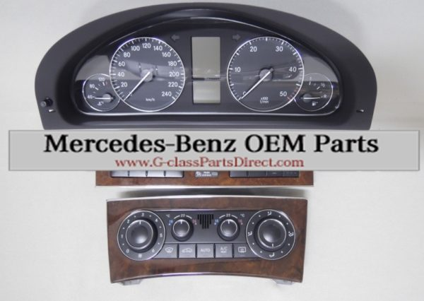 Mercedes benz retrofitting installation set for command for Mercedes benz parts direct