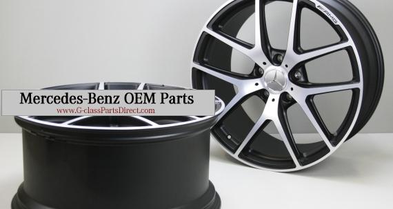 Mercedes benz silver forged wheels r21 g wagon edition 463 for Mercedes benz g wagon parts