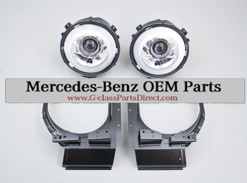Mercedes benz xenon retrofit kit w463 g classpartsdirect for Mercedes benz parts direct