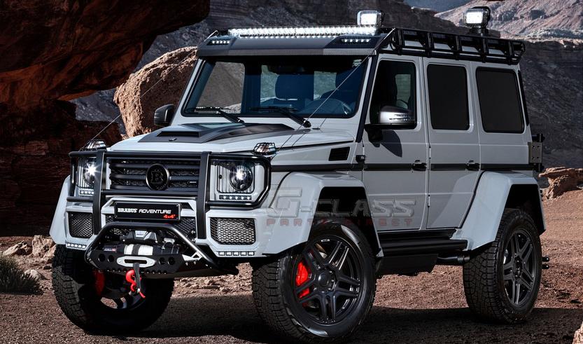 Brabus G Wagon >> Brabus Mercedes G550 4 4 Adventure Winch