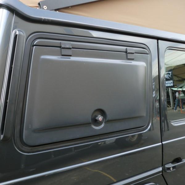 Mercedes G 5 Doors Storage Box Sidewise Rear Window Left Side