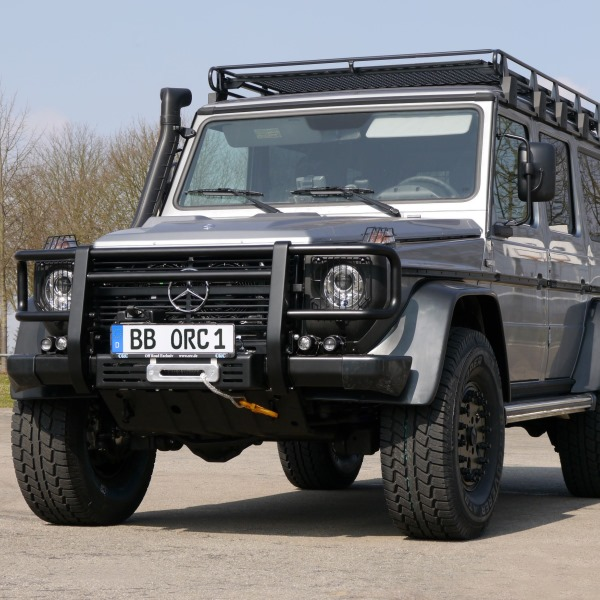 Road Rhino Bumper >> Bull bar for Mercedes G 460/461 black - G-classPartsDirect.com | Mercedes G-class Parts
