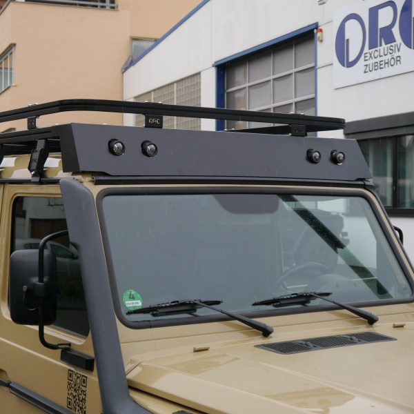 Wind Deflector For Orc Roof Rack 63 241401 With 4 Cutouts